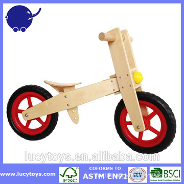 custom kids Wooden balance bike