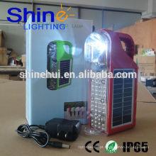 2015 Shinehui luz solar LED portátil com CE, ROHS e IP65 Aprovação