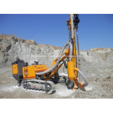 DTH rock blasting drilling rig for ore rocks