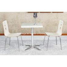 Neue Designmöbel Billig Holz Cafe Tisch (FOH-BC17)