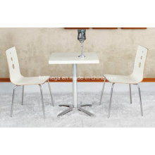 New Design Furniture Cheap Wood Cafe Table (FOH-BC17)