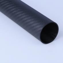 Hard Light Carbon Fiber Tube 3K Woven Pipe