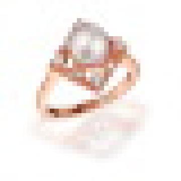 Натуральный идеально круглые Пресноводный жемчуг Ретро квадратные кольца s925 стерлингового серебра для женщин обручальное ювелирные изделия