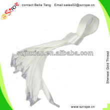 White Handle Rope Made From Satin Ribbon