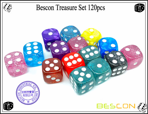 Bescon Treasure Set 120pcs-9