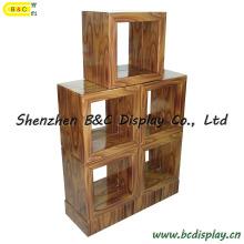 Cardboard Bookcase / Paper Grid Ark / Multi-Purpose Cabinet (B&C-F006)