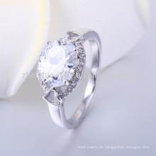 los precios al por mayor del anillo de las mujeres del diamante del último diseño de la alta calidad al por mayor en Paquistán