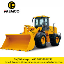 Front End Loader Skid Wheel Loader