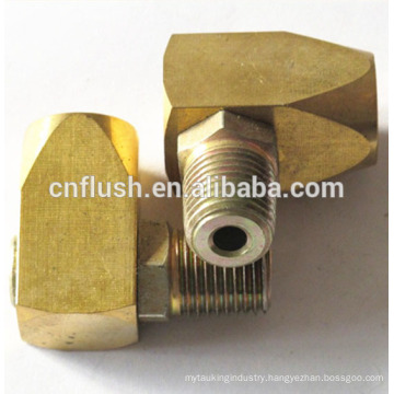 Precision brass machining factory male/female small parts