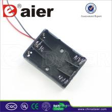 Daier 3x1.5v aaa Batterie mit Draht 3 aaa Batteriehalter