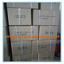 Separador de la batería de la fibra de vidrio del grosor de 1.6mm 152 * 242 * 1.6mm