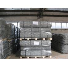 Hexagonal Gabion Rolls Wire Mesh para proteção do rio