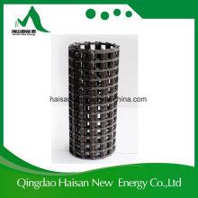 Geometria de fibra de basalto Geogrid de reforço de 100kn para Base Rode
