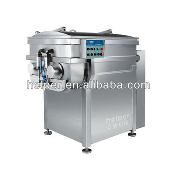 Vacuum industrial meat mixer
