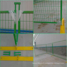 Best price 6x10ft Canada green color temporary fence/portable fence panels(manufacture) ISO9001