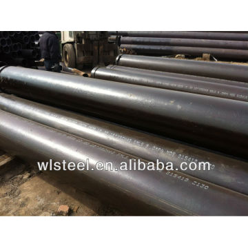 astm a53b a106b tubos de pared de agua de caldera