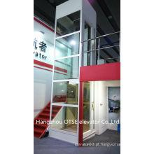 Pequeno elevador elevador / elevador para 1 pessoa / elevador casa pequena 250kg