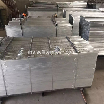 Pembinaan Galvanized High Rib Mesh 450 x 2200mm
