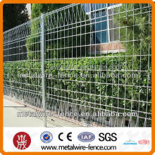 galvanized roll top fencing