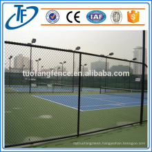 Zinc Coated Chain Link Wire Fence With Accessories Used for Sale (China Products)