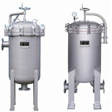 Stainless steel bag filter for petroleum products