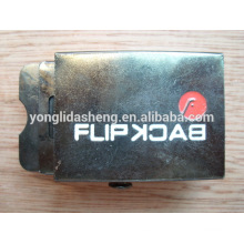 China Custom logo metal belt buckle military police belt buckle