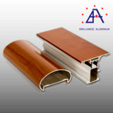 Wood Grain Aluminum Profile (BA-010)