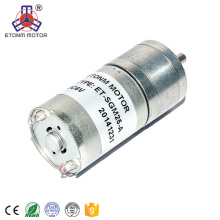 small 12v 6v encoder gear motor metal/plastic gears electric gear motor, hall sensors encoder dc