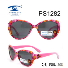 Popular Cartoon Colorful Kid Plastic Sunglasses (PS1282)