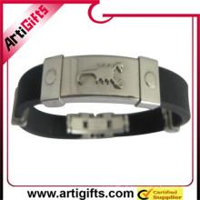 De chine fabrication pas cher personnalisé bracelet en acier inoxydable bijoux