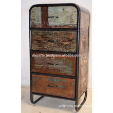 Recycled Industrial Drawer Cabinet