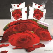 Rose Design 3D Juego de sábanas de todos los tamaños