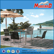 Outdoor Furniture Garden Dining Sets Stainless Steel Furniture