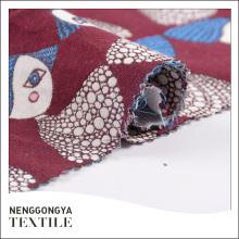 Tissu en coton jacquard confortable et confortable