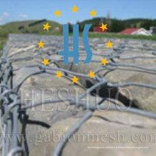 Panier de gabion galvanisé de protection de rivière