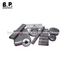Wear parts DLP 1101 Standard Wear Bars