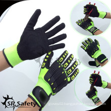 SRSAFETY 13G industrial working anti cut 5 gloves,safety impact gloves