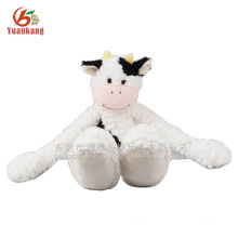 Lovely white monkey plush hanging toy with long arm