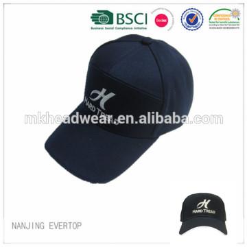 7 Panel Reflektierende Kappe Stickmütze Polyester Cap