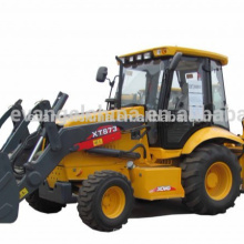 4wd mini backhoe loader XT873 with price/cheap backhoe loader price