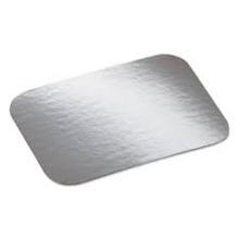 Tapas planas impresas del tablero del envase de comida del papel de aluminio