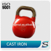 customized colored vinyl coated kettlebell