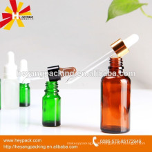 Essential oil wholesale child proof glass dropper bottle