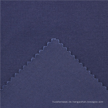 21x21 + 70D / 140x74 264gsm 144cm tiefes Meer blau doppelte Baumwolle Stretch Köper 2 / 2S 97% Baumwolle + 3% Spandex Textilien Baumwollgewebe