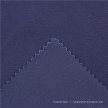 21x21 + 70D / 140x74 264gsm 144cm deep sea blue double coton stretch twill 2 / 2S Chine usine tissu histoire tissu spandex