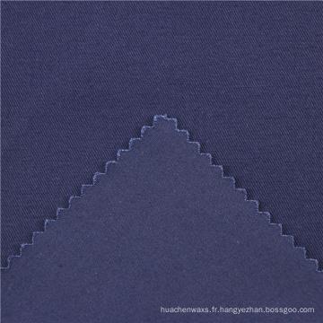 21x21 + 70D / 140x74 264gsm 144cm deep sea blue double coton stretch twill 2 / 2S élastique en sergé tissu en gros en tissu rolls