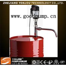 Pompe à huile Barrel, pompe à tambour électrique, boissons, liquide corrosif général, essence (YSB)