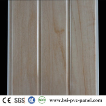 30cm 9mm Laminated PVC Wall Panel Hotselling Groove PVC Ceiling