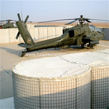Metal Wire Mesh Military Security Wall