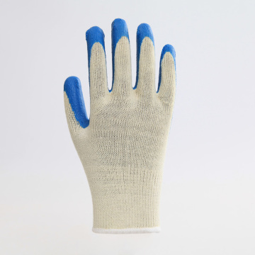 Thickened Multicolor Cotton Latex Work Protective Gloves